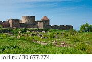 Купить «Bilhorod-Dnistrovskyi fortress (Akkerman fortress)», фото № 30677274, снято 5 мая 2017 г. (c) Наталья Двухимённая / Фотобанк Лори