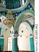 Купить «Орнамент на потолке в мечети Джума-мечеть. Баку. Азербайджан», фото № 30689462, снято 26 сентября 2015 г. (c) Евгений Ткачёв / Фотобанк Лори