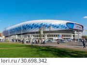 Купить «Москва, стадион ВТБ Арена», эксклюзивное фото № 30698342, снято 30 апреля 2019 г. (c) Alexei Tavix / Фотобанк Лори