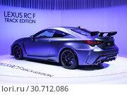 Купить «Lexus RC F Track Edition», фото № 30712086, снято 10 марта 2019 г. (c) Art Konovalov / Фотобанк Лори