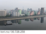 Купить «Pyongyang, capital of the North Korea. DPRK», фото № 30728258, снято 30 апреля 2019 г. (c) Знаменский Олег / Фотобанк Лори