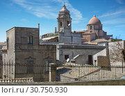Купить «The city of Erice in Sicily, Italy», фото № 30750930, снято 17 апреля 2019 г. (c) Алексей Кузнецов / Фотобанк Лори