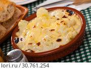 Купить «Cauliflower and cheese casserole», фото № 30761254, снято 15 июня 2019 г. (c) Яков Филимонов / Фотобанк Лори