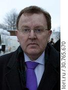 Купить «UK SCOTLAND Edinburgh -- 29 Nov 2010 -- Scottish Office Minister David Mundell - who is also currently the only Conservative MP in Scotland - at Lothian...», фото № 30765670, снято 29 ноября 2010 г. (c) age Fotostock / Фотобанк Лори