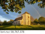 Купить «Spring evening at the Saxon church of St Botolph near Steyning, West Sussex, England.», фото № 30767378, снято 4 мая 2019 г. (c) age Fotostock / Фотобанк Лори