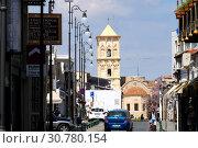 Купить «Византийская церковь Святого Лазаря в исторической части Ларнаки», фото № 30780154, снято 10 мая 2019 г. (c) Irina Opachevsky / Фотобанк Лори