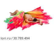 Купить «Woman topless in artistic beautiful dress», фото № 30789494, снято 29 апреля 2019 г. (c) Гурьянов Андрей / Фотобанк Лори