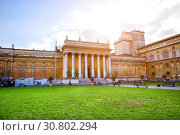 Braccio Nuovo (New Wing) in the courtyard of the Vatican museums (2018 год). Редакционное фото, фотограф Евгений Ткачёв / Фотобанк Лори