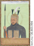 Купить «Tamerlane, or Timur, 1320s or 1330s - 1405. Turko-Mongol conqueror. Founder of Timurid dynasty in Central Asia. After a 17th century work.», фото № 30803994, снято 1 января 2019 г. (c) age Fotostock / Фотобанк Лори