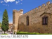 Купить «Толедо, Испания. Дворец - крепость Ла-Кава (Palacio de la Cava), XIV в.», фото № 30807670, снято 25 июня 2017 г. (c) Rokhin Valery / Фотобанк Лори