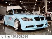 Купить «BMW 3-series», фото № 30808386, снято 2 сентября 2016 г. (c) Art Konovalov / Фотобанк Лори