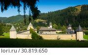 Купить «Sucevita Monastery», фото № 30819650, снято 15 сентября 2017 г. (c) Яков Филимонов / Фотобанк Лори