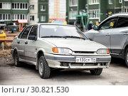 Купить «Lada Samara», фото № 30821530, снято 25 мая 2019 г. (c) Art Konovalov / Фотобанк Лори