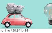 Купить «Idea delivery, creative process», видеоролик № 30841414, снято 23 мая 2019 г. (c) Сергей Петерман / Фотобанк Лори