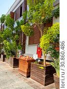 Купить «Street of old town Kaleici in Antalya, Turkey», фото № 30860486, снято 22 сентября 2018 г. (c) Наталья Двухимённая / Фотобанк Лори