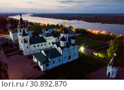 Купить «Spaso-Preobrazhensky monastery in Murom in the evening», фото № 30892870, снято 8 мая 2019 г. (c) Яков Филимонов / Фотобанк Лори