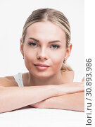 Купить «Perfect woman portrait», фото № 30893986, снято 18 апреля 2017 г. (c) Иван Михайлов / Фотобанк Лори