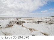 Купить «Льдины берегу моря. Арктика. Белое море», фото № 30894370, снято 27 апреля 2019 г. (c) Яковлев Сергей / Фотобанк Лори