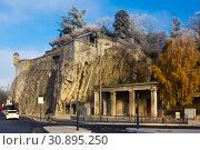 Купить «Jardin des Dauphins, Grenoble, France», фото № 30895250, снято 7 декабря 2017 г. (c) Яков Филимонов / Фотобанк Лори