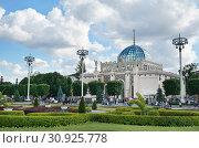 """Москва, ВДНХ, Павильон № 11 """"Казахстан"""" (2019 год). Редакционное фото, фотограф Dmitry29 / Фотобанк Лори"""
