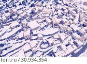 Купить «Houses and nature of ancient city Gosol village in Catalonia from high», фото № 30934354, снято 4 марта 2018 г. (c) Яков Филимонов / Фотобанк Лори