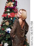 Купить «Певица Анжелика Агурбаш», фото № 30975158, снято 3 декабря 2015 г. (c) Ольга Зиновская / Фотобанк Лори