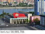 Купить «Pyongyang, North Korea», фото № 30985706, снято 29 апреля 2019 г. (c) Знаменский Олег / Фотобанк Лори