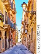 Old City of Syracuse in Sicily (2019 год). Стоковое фото, фотограф Роман Сигаев / Фотобанк Лори