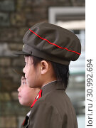 Купить «Pyongyang, North Korea. Children», фото № 30992694, снято 1 мая 2019 г. (c) Знаменский Олег / Фотобанк Лори