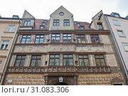 Купить «Ehemalige stadtschreiberei in Munich. Germany», фото № 31083306, снято 23 июня 2019 г. (c) E. O. / Фотобанк Лори