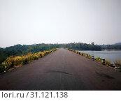 Купить «Run way shown a way to find peaceful but like a lonely», фото № 31121138, снято 8 февраля 2018 г. (c) easy Fotostock / Фотобанк Лори