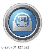Купить «Icon, Button, Pictogram with Subway symbol», фото № 31127522, снято 7 апреля 2010 г. (c) easy Fotostock / Фотобанк Лори