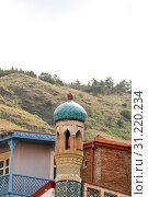 Купить «Tbilisi Old Town, the Historic district of the capital of Georgia», фото № 31220234, снято 17 августа 2016 г. (c) easy Fotostock / Фотобанк Лори