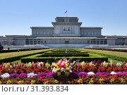 Купить «Mausoleum. Pyongyang, North Korea», фото № 31393834, снято 2 мая 2019 г. (c) Знаменский Олег / Фотобанк Лори