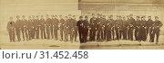 Defense de Paris. Garden Nationale, 64e Batallion, André Adolphe-Eugène Disdéri (French, 1819 - 1889), 1871, Albumen silver print (2018 год). Редакционное фото, фотограф © Liszt Collection / age Fotostock / Фотобанк Лори