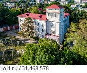Купить «Туапсе. Гидрометеорологический колледж», фото № 31468578, снято 4 июня 2019 г. (c) glokaya_kuzdra / Фотобанк Лори