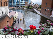Купить «Birmingham Canal, Old Line, Birmingham, England.», фото № 31470778, снято 23 июля 2019 г. (c) age Fotostock / Фотобанк Лори