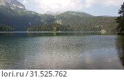 Купить «Montenegro, Black Lake in a Durmitor Park», видеоролик № 31525762, снято 25 июня 2019 г. (c) Володина Ольга / Фотобанк Лори