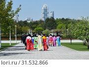 Купить «Pyongyang, North Korea. People», фото № 31532866, снято 2 мая 2019 г. (c) Знаменский Олег / Фотобанк Лори