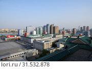 Купить «Pyongyang, North Korea», фото № 31532878, снято 29 апреля 2019 г. (c) Знаменский Олег / Фотобанк Лори