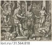 Visits of prisoners, Pieter Nagel, Gerard P. Groenning, in or before 1571 (2016 год). Редакционное фото, фотограф Artokoloro / age Fotostock / Фотобанк Лори