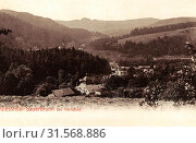 Buildings in Karlovy Vary District, Chapels in Karlovy Vary District, 1899, Karlovy Vary Region, Gießhübl, Sauerbrunn, Czech Republic (2019 год). Редакционное фото, фотограф Liszt Collection / age Fotostock / Фотобанк Лори