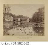 Addition to Bridge across River Kelvin, Thomas Annan (Scottish,1829 - 1887), Glasgow, Scotland, 1877, Albumen silver print (2018 год). Редакционное фото, фотограф © Liszt Collection / age Fotostock / Фотобанк Лори