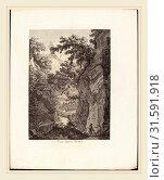 Купить «Albert Christoph Dies (Austrian, 1755-1822), Ponte Lupo a Tivoli, 1792, etching on laid paper», фото № 31591918, снято 5 августа 2014 г. (c) age Fotostock / Фотобанк Лори