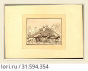 Regina Katharina Quarry after Franz Schutz (German, c. 1762-c. 1818), Swiss Cottages, published 1782, stipple etching (2014 год). Редакционное фото, фотограф Artokoloro / age Fotostock / Фотобанк Лори