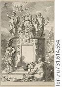 Купить «Allegory of the victorious Habsburg Netherlands, Daniël met de Penningen, 1685 - 1696», фото № 31614554, снято 28 декабря 2014 г. (c) age Fotostock / Фотобанк Лори