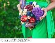 Wedding bouquet. Стоковое фото, фотограф Podvysotskiy Roman / Фотобанк Лори
