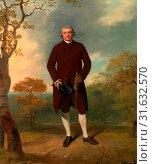 Portrait of a Man, called George Basil Woodd [Called] Basil Woodd, Francis Wheatley, 1747-1801, British (2014 год). Редакционное фото, фотограф Artokoloro / age Fotostock / Фотобанк Лори