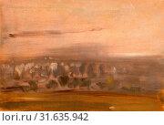Купить «Landscape with Trees on a Slope, unknown artist, 19th century, British», фото № 31635942, снято 7 августа 2014 г. (c) age Fotostock / Фотобанк Лори