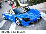Купить «McLaren 720S», фото № 31643290, снято 12 марта 2019 г. (c) Art Konovalov / Фотобанк Лори